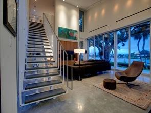 Diseño interior casa en Barrier Island de arquitectos Sanders Pace