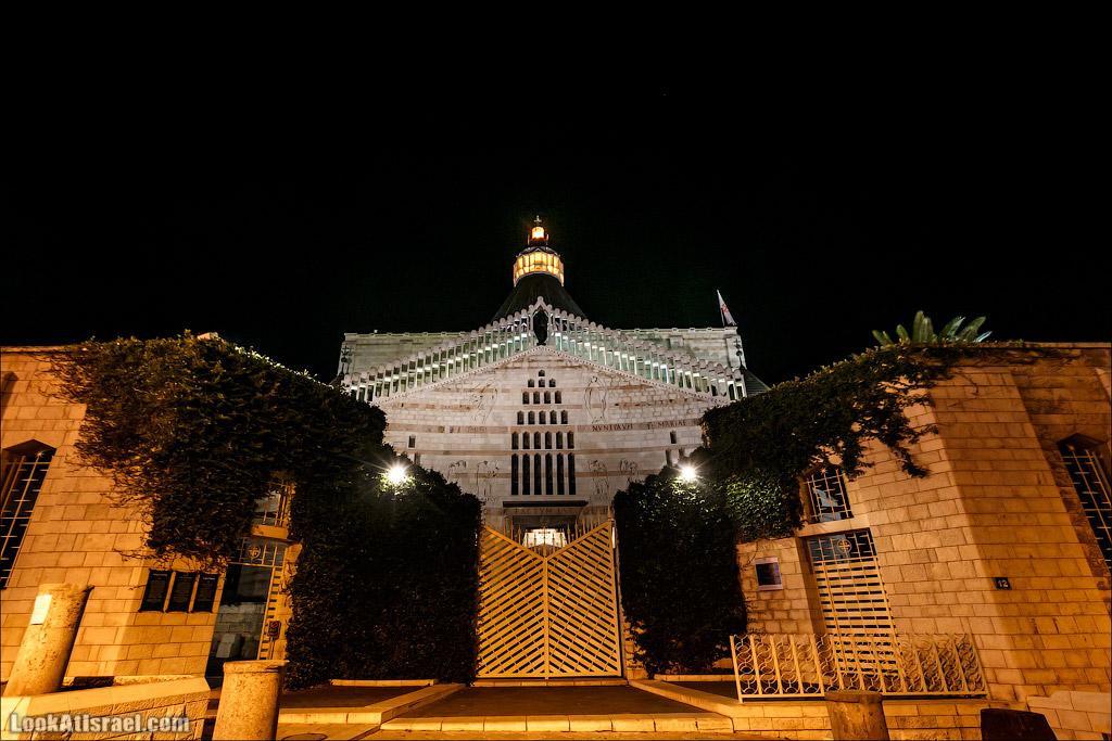 LookAtIsrael.com - Фото путешествия по Израилю | Церковь Благовещения в Назарете | Basilica of the annunciation in Nazareth