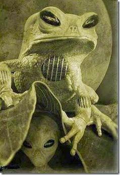 Frog-Alien