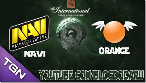Dota 2: Navi x Orange - The International Championships 2013 – TI3 – Semi-final