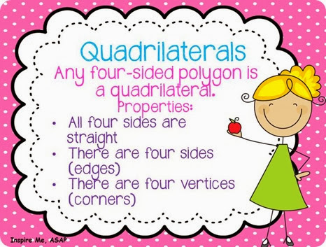 Quadrilaterals Freebie