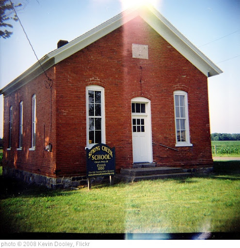 'Lomo Spring Creek School House' photo (c) 2008, Kevin Dooley - license: http://creativecommons.org/licenses/by/2.0/