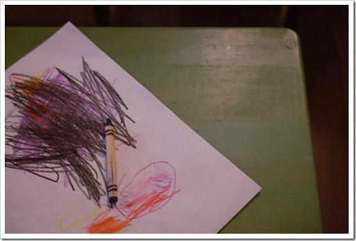 thanksgiving crayons