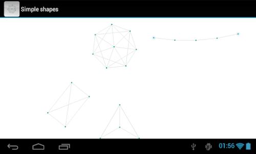 Verlet demo screenshot 3