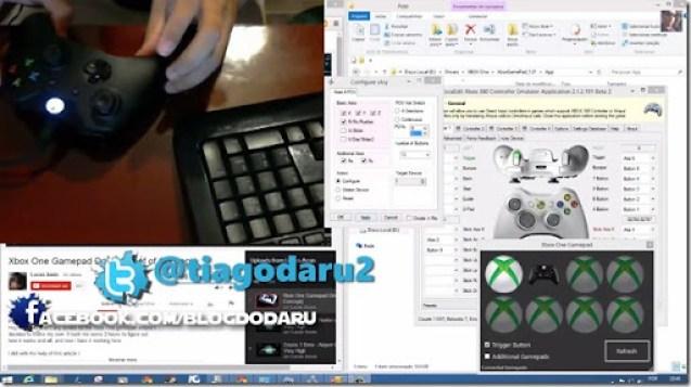 Controle do XBOX One no PC é possível
