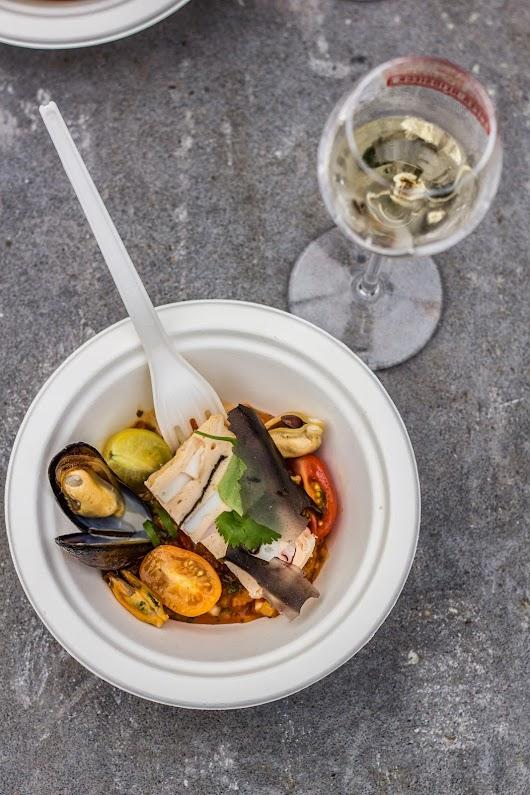 Trestjernet Michelinmad som streetfood - Mikkel Bækgaards Madblog