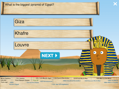 History Quiz for Kids screenshot 2
