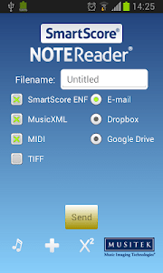 SmartScore NoteReader screenshot 2