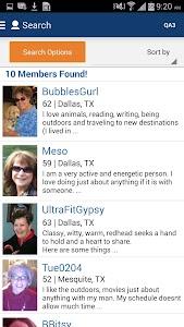 Seniors Meet Dating App screenshot 3