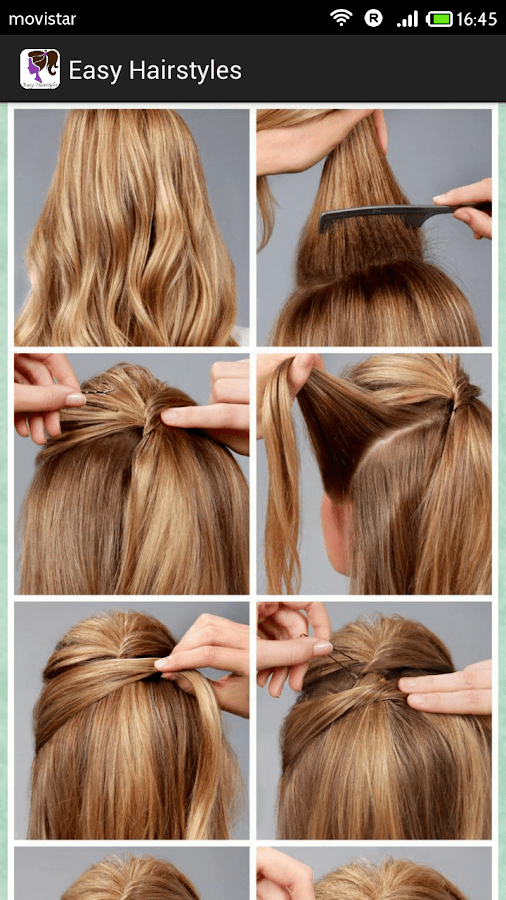 Easy Hairstyles Step By Step Android Apps On Google Play