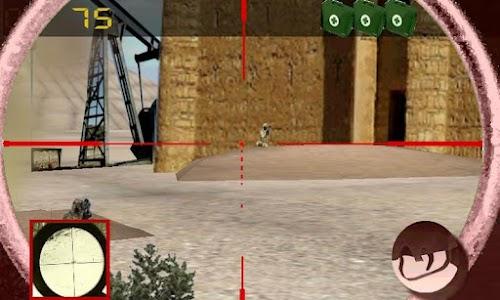 Sniper vs terrorism: oil war screenshot 2