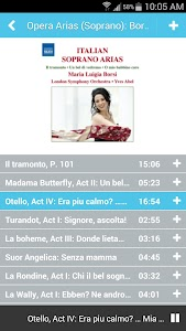 Naxos Music Library screenshot 4