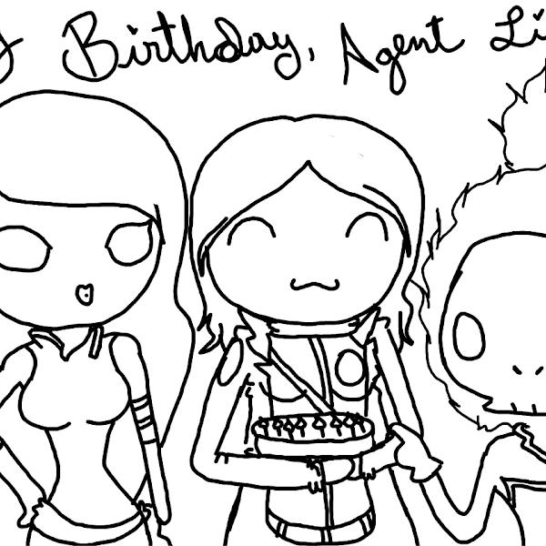 Sister's birthday » drawings » SketchPort