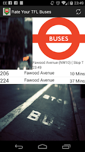 Rate Your TFL Buses BETA screenshot 2