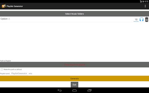 Playlist Generator screenshot 3