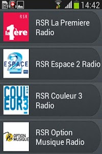 Radio Suisse screenshot 2