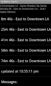 LA Metro Alerts screenshot 0