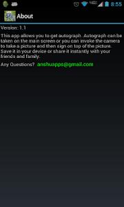 Autograph My Photo screenshot 6