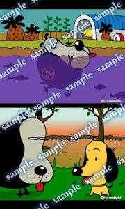 Daily Cartoon013 LWP & Clock screenshot 2