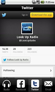 Look Up Radio screenshot 2