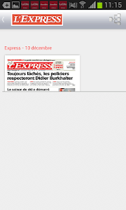 L'Express journal screenshot 3