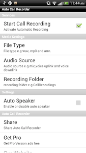 Call Recorder Free screenshot 0