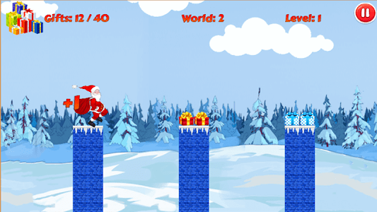 Christmas Santa Run screenshot 5