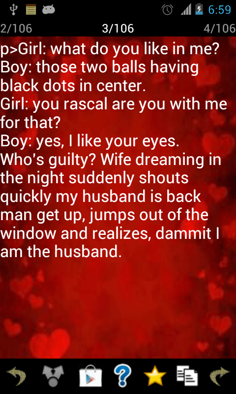 Download The Hot Romantic Love Message FREE Android Apps