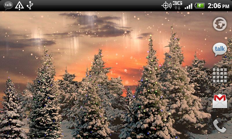 Fall Season Live Wallpaper For Android Snowfall Free Live Wallpaper Android Apps On Google Play