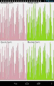 sortVisualization screenshot 0