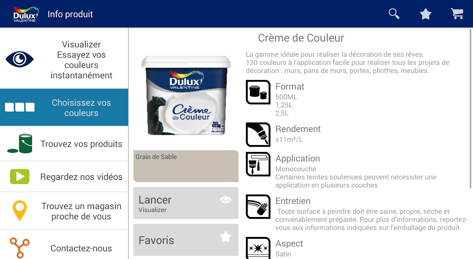 Dulux Valentine Visualizer Applications Android Sur