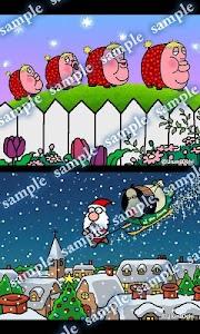 Daily Cartoon013 LWP & Clock screenshot 1
