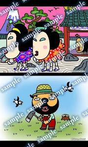 Daily Cartoon011 LWP & Clock screenshot 4