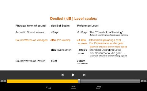 Audio and Sound Basics screenshot 4