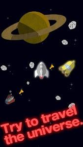 FLAT-galaxy- space travel game screenshot 3