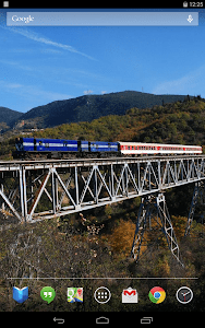 Trains on Bridges Wallpaper screenshot 9