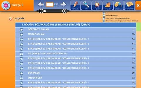 Türkçe 6 KOZA Z-Kitap screenshot 11