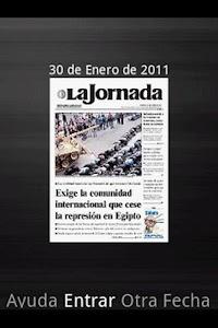 La Jornada mini screenshot 0