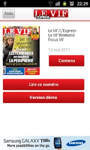 Le Vif/L'Express screenshot 0