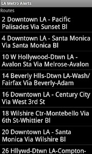 LA Metro Alerts screenshot 1