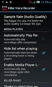 Killer Voice Recorder Pro screenshot 5
