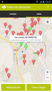 Farmacias de Cáceres screenshot 3