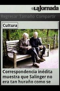 La Jornada mini screenshot 4
