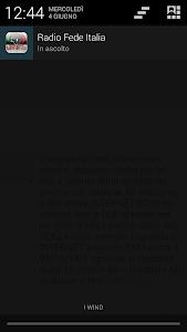 Radio Fede Italia screenshot 3