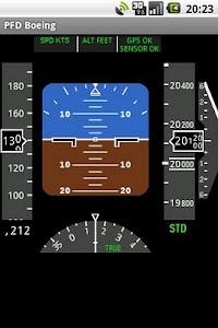 PFD Boeing screenshot 0
