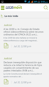 LegisMovil screenshot 1