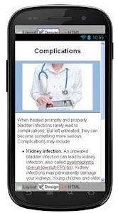 Cystitis Disease & Symptoms screenshot 5