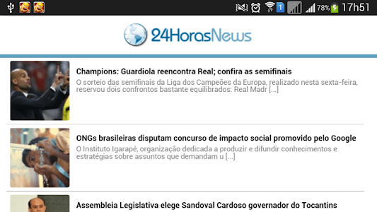 24 Horas News - Mato Grosso screenshot 0
