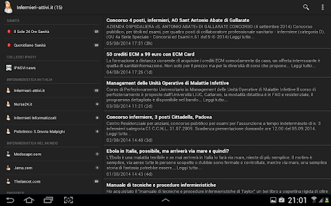 Infermieri News screenshot 2