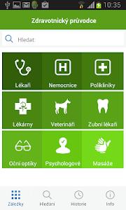 Zdravotnický průvodce screenshot 0